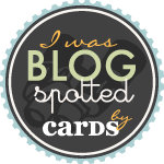 Blog Spotted by CARDS